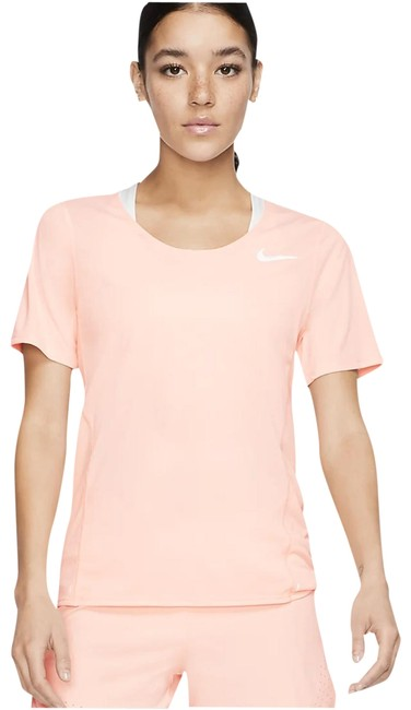 Item - Washed Coral Women's Short-sleeve Running City Sleek Activewear Top Size 8 (M)