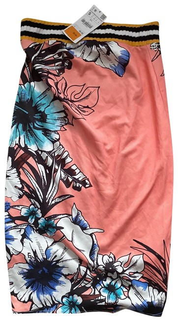 Item - Pink and Orange Skirt Size 4 (S, 27)