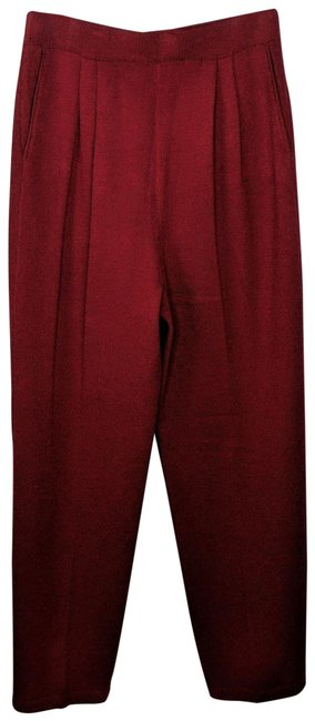 Item - Red Tapered Pants Size 10 (M, 31)