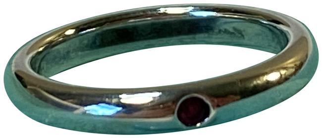 Item - Silver and Ruby Co Elsa Peretti Gem Stacking 4.5 Ring