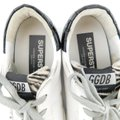 Golden Goose Deluxe Brand White / Black /Grey Superstar Zebra Accent Distressed Leather Sneakers Size EU 41 (Approx. US 11) Regular (M, B) Golden Goose Deluxe Brand White / Black /Grey Superstar Zebra Accent Distressed Leather Sneakers Size EU 41 (Approx. US 11) Regular (M, B) Image 6