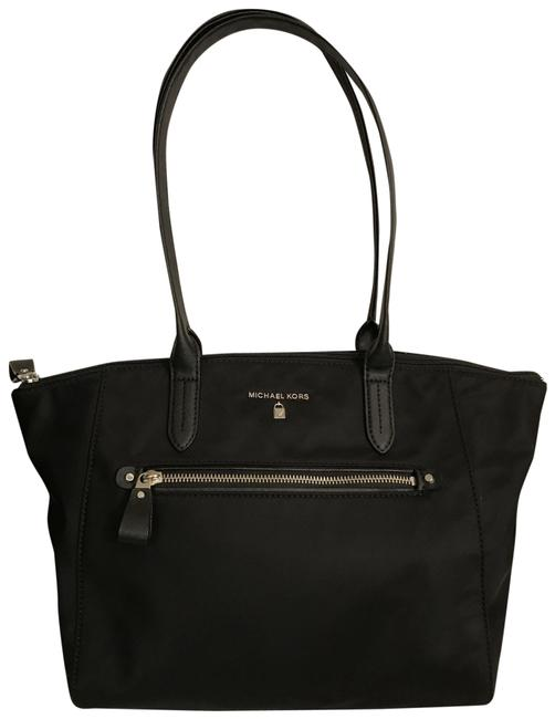 Item - Kelsey Med Black Nylon Tote