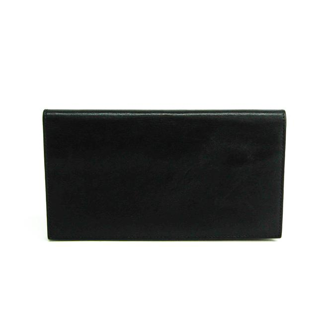 Item - Black Long Citizen Twill Long Unisex Leather (Bi-fold) Wallet