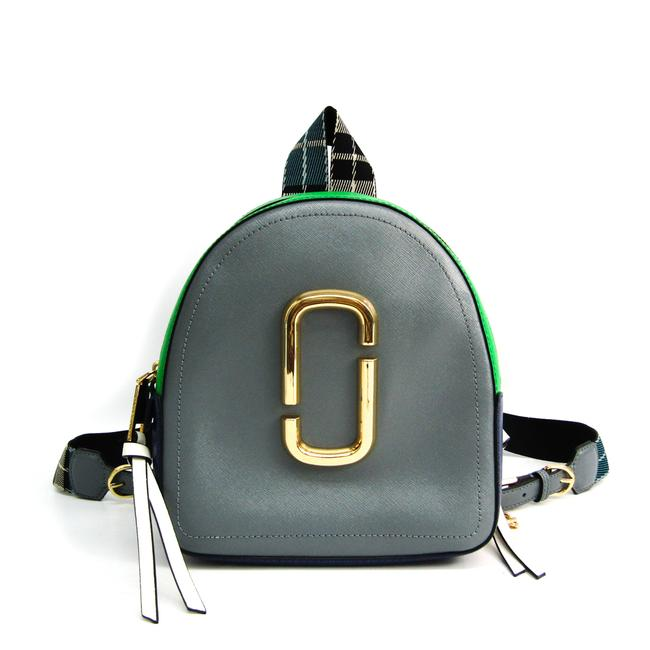 Item - Pack Shot Pack Shot M0013992 Women's Blue / Gray / Green / White Leather Backpack