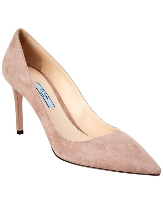 Item - Rose Suede Pointy-toe Pumps Size US 6 Narrow (Aa, N)