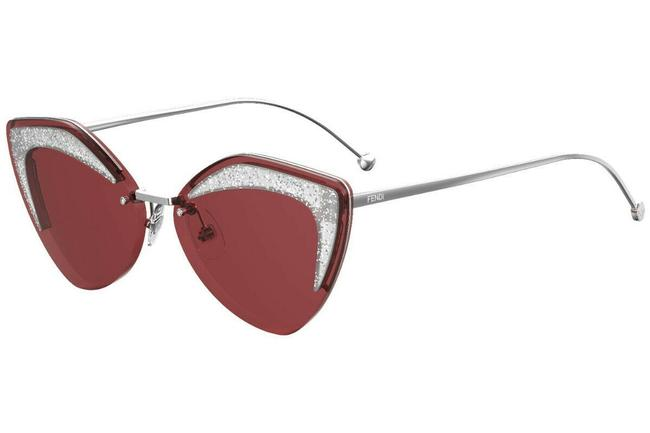 Item - Silver/Red Ff0355s C9a 4s Ff 0355s Cat Eye Sunglasses