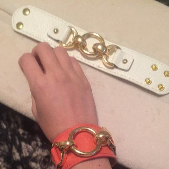 LuLu Pair Of Adjustable Leather Cuffs