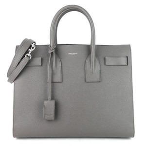 Item - Sac de Jour Nm Small Grey Leather Tote