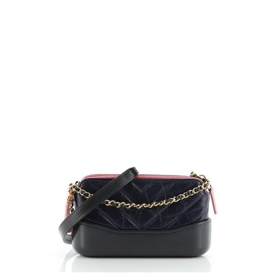Preload https://img-static.tradesy.com/item/27939357/chanel-gabrielle-clutch-double-zip-with-chain-quilted-aged-calfskin-blue-gray-multicolor-leather-sho-0-0-540-540.jpg