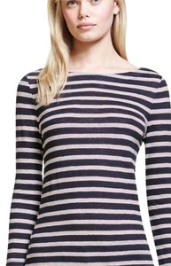 Tory Burch T Shirt navy stripe