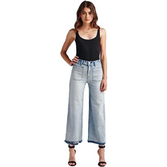 Item - Blue Holly High Rise Crop Frame Of Mind Trouser/Wide Leg Jeans Size 26 (2, XS)