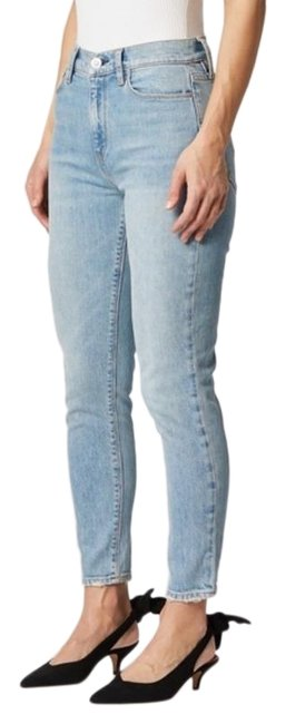 Item - Blue Light Wash Bettie High Rise Taper Straight Leg Jeans Size 25 (2, XS)