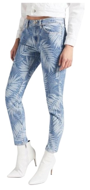 Item - Blue White Light Wash The Stiletto Wily In Wily Skinny Jeans Size 25 (2, XS)