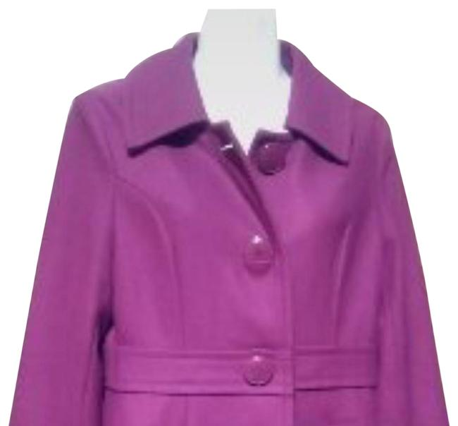 Item - Pink/Red Wool Blend Coat Size 8 (M)