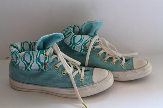 Converse Nwot High Tops Sneakers Teal/Blue Athletic