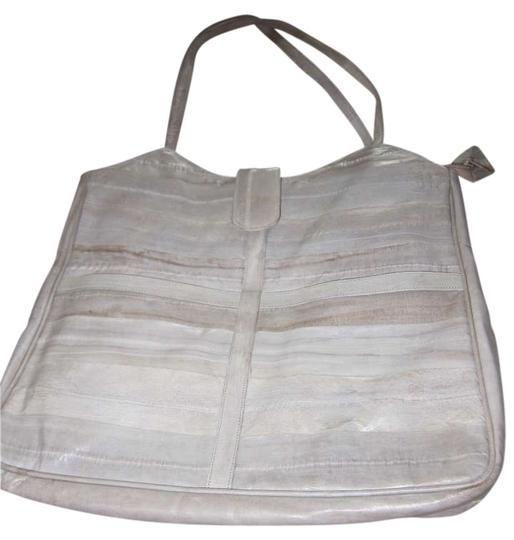 Preload https://img-static.tradesy.com/item/279414/multi-cream-grey-taupe-eel-skin-shoulder-bag-0-0-540-540.jpg