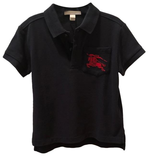 Item - Navy Blue Polo Tee Shirt Size OS (one size)
