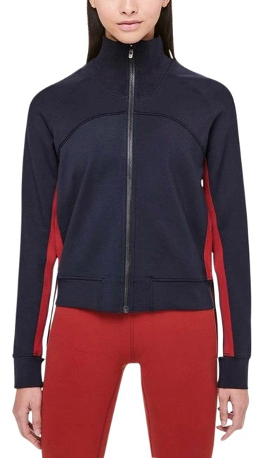 Item - Midnight Navy Cover Your Tracks Jacket Size 6 (S)