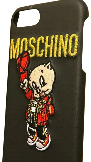 Item - Black/Red Ss19 T Looney Porky Pig Case For Iphone 6 / 7 / 8 Tech Accessory