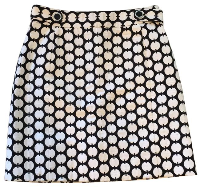 Item - Black and White 11091336 Skirt Size 8 (M, 29, 30)