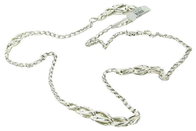 """John Hardy Silver Interlinking Bamboo 36"""" Sterling Necklace John Hardy Silver Interlinking Bamboo 36"""" Sterling Necklace Image 1"""