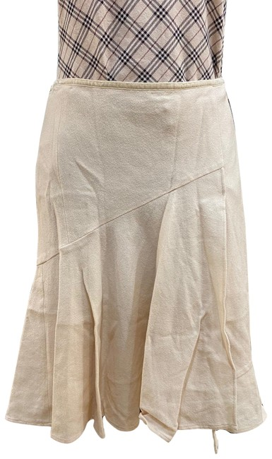 Item - Cream Flare Skirt Size 2 (XS, 26)