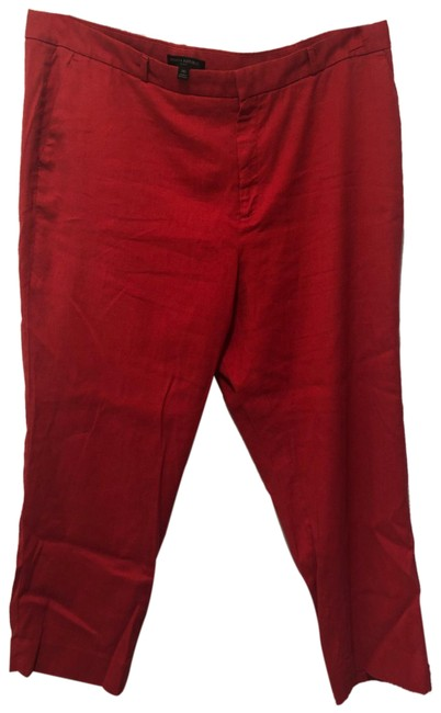 Item - Red Stretch Ankle Pants Size 20 (Plus 1x)