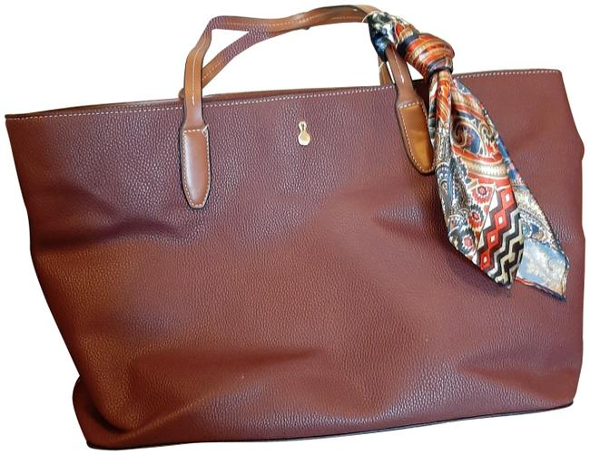 Item - 510-berry Leather Weekend/Travel Bag