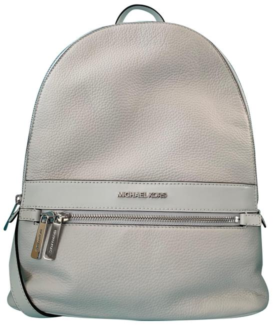 Item - Kenly Optic White Leather Backpack