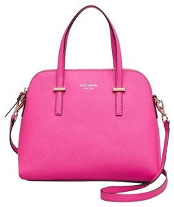 Kate Spade Satchel in sweetheart pink/light gold