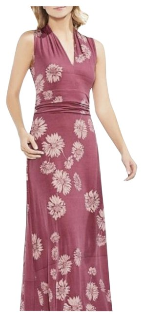 Item - Pink Floral Long Casual Maxi Dress Size 2 (XS)