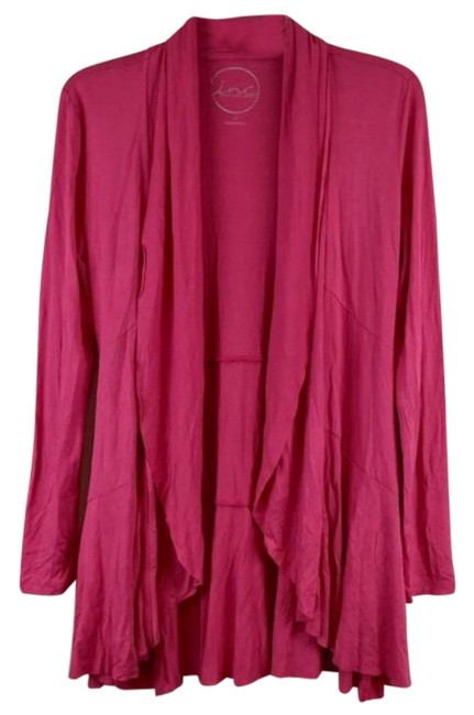 Item - Layer Long Sleeves Opening Cover Up Size S Pink Top