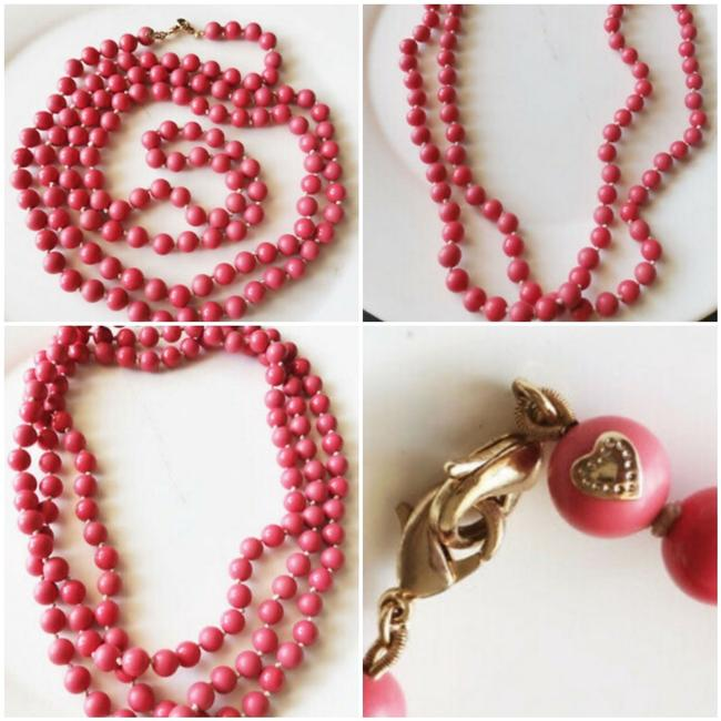 Item - Red And La Coco Necklace