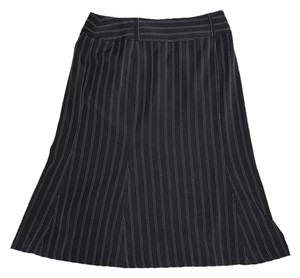 First Option Flare Skirt Black