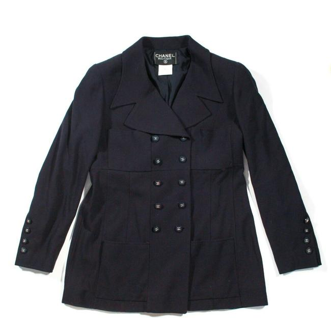Preload https://img-static.tradesy.com/item/27947232/chanel-navy-blue-double-breasted-gold-cc-buttons-us-44-96-blazer-size-12-l-0-0-650-650.jpg