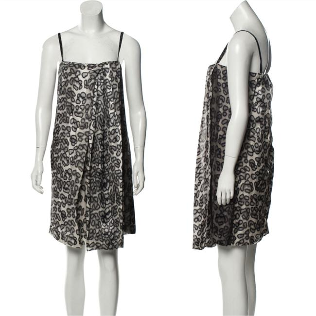 Just Cavalli Silk Knee-length Mid-length Cocktail Dress Size 2 (XS) Just Cavalli Silk Knee-length Mid-length Cocktail Dress Size 2 (XS) Image 1