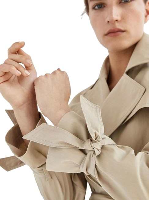 Item - Massimo Dutti with Bow Details Coat Size 4 (S)