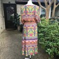Uncle Frank Multicolor Nwot Long Casual Maxi Dress Size 12 (L) Uncle Frank Multicolor Nwot Long Casual Maxi Dress Size 12 (L) Image 3