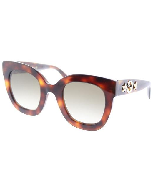 Gucci Multicolor Women's Gg0208s 49mm Sunglasses Gucci Multicolor Women's Gg0208s 49mm Sunglasses Image 1