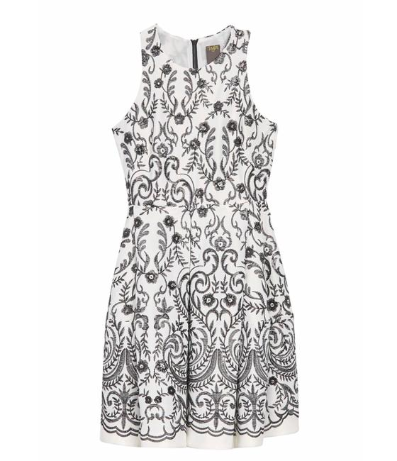 Preload https://img-static.tradesy.com/item/27947658/taylor-black-ivory-embroidered-sequin-sleeveless-fit-and-flare-lined-mid-length-cocktail-dress-size-0-0-650-650.jpg