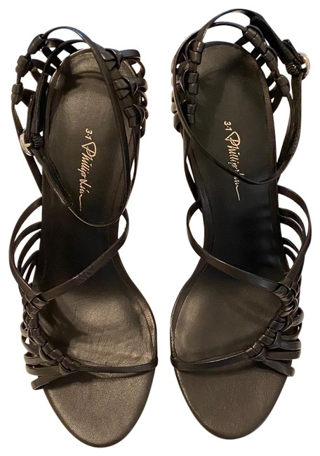 3.1 Phillip Lim Black Lily 75 Mm Strappy Sandals Pumps Size US 6 Regular (M, B) 3.1 Phillip Lim Black Lily 75 Mm Strappy Sandals Pumps Size US 6 Regular (M, B) Image 1