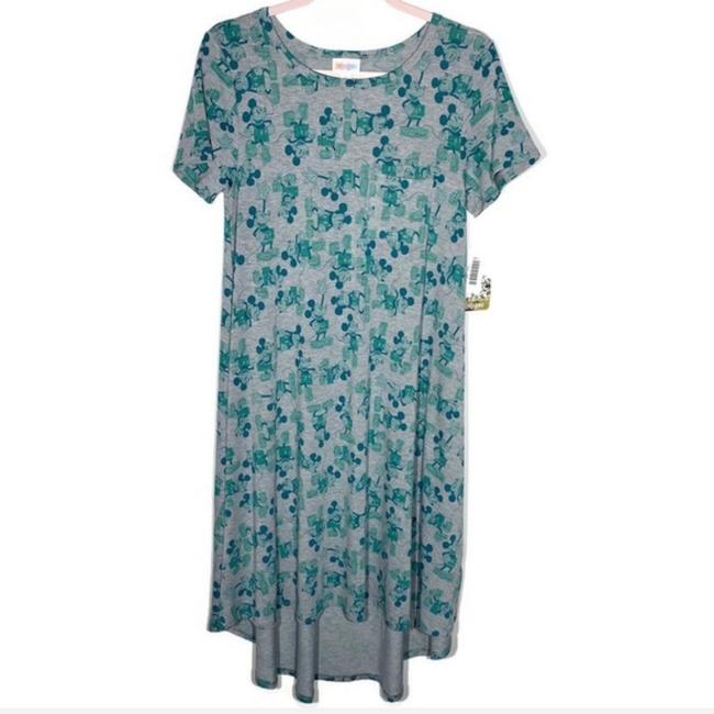 Item - Gray/Green Carly Mid-length Casual Maxi Dress Size 2 (XS)