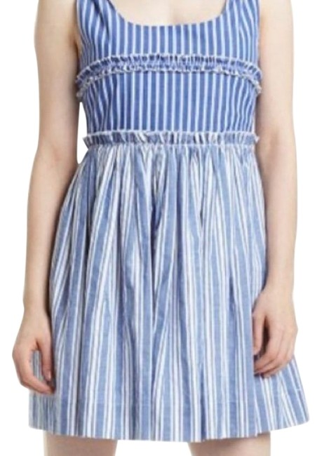 Preload https://img-static.tradesy.com/item/27947831/romeo-and-juliet-couture-blue-white-short-casual-dress-size-4-s-0-1-650-650.jpg