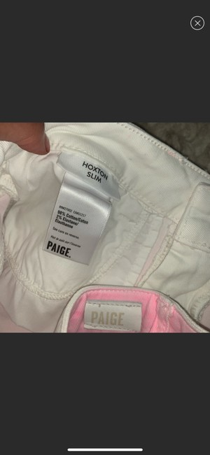 Paige Pink/White/Blue Skinny Jeans Size 10 (M, 31) Paige Pink/White/Blue Skinny Jeans Size 10 (M, 31) Image 6