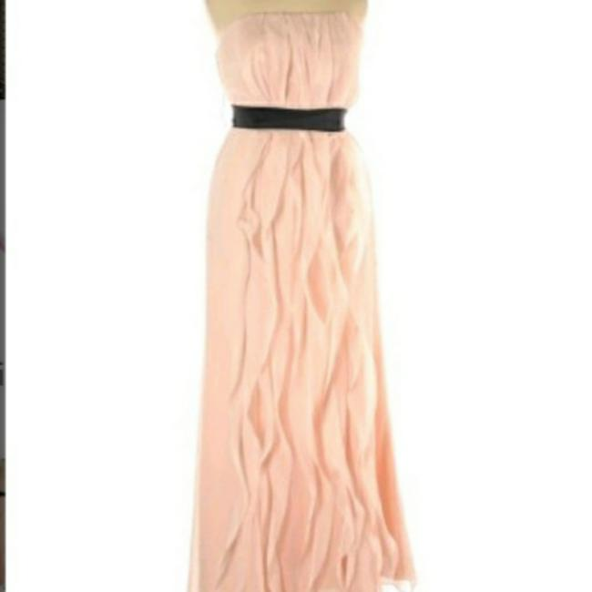 Item - Pink Ruffled Gown Long Formal Dress Size 16 (XL, Plus 0x)