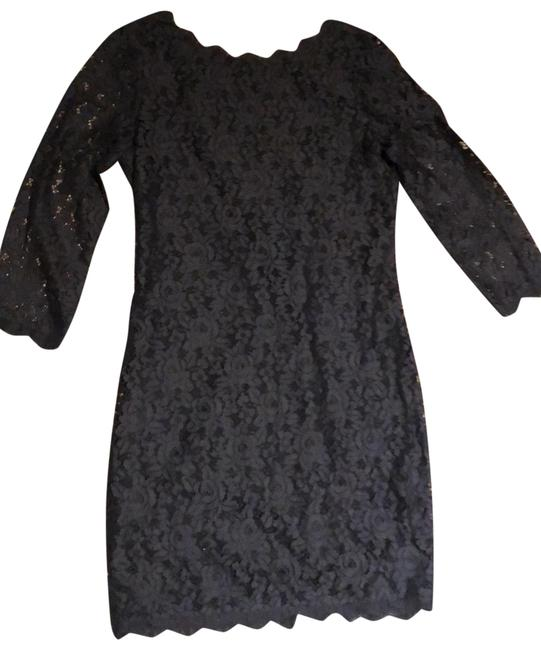 Item - Black Colleen Short Formal Dress Size 6 (S)