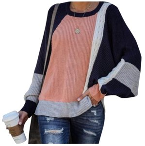 Vici #colorblock #dolman Sweater