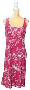 Ann Taylor LOFT short dress pink and white on Tradesy