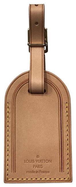 Louis Vuitton Vachetta Made In France Luggage Tag Louis Vuitton Vachetta Made In France Luggage Tag Image 1