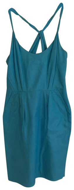 Item - Blue Brwl-1000 Short Casual Dress Size 0 (XS)